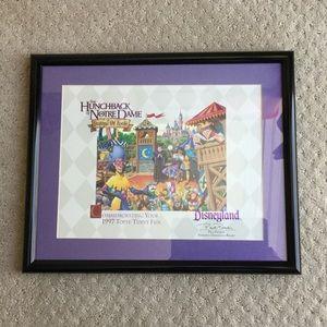 Disney Hunchback of Notre Dame framed print
